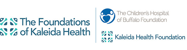 The Foundations of Kaleida Health logo collage